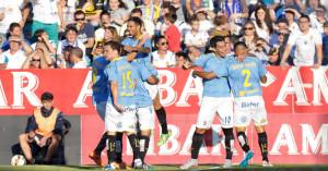 Real Zaragoza - UD Las Palmas - Playofffinal-Hinspiel (Foto: Carlos Díaz Recio - www.udlaspalms.es)