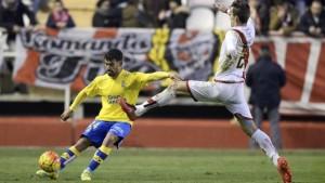 Rayo Vallecano - UD Las Palmas (Foto: udlaspalmas.es)