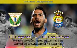CD Leganés – UD Las Palmas