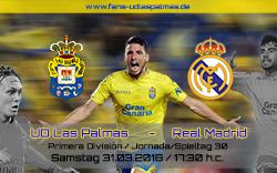 UD Las Palmas – Real Madrid