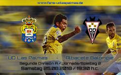 UD Las Palmas – Albacete Balompié