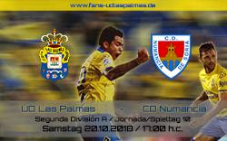 UD Las Palmas – CD Numancia