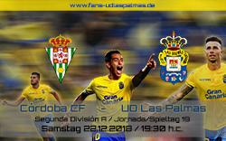 Cordoba CF – UD Las Palmas