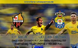 CF Reus – UD Las Palmas