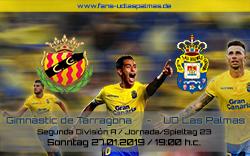 Nastic Tarragona – UD Las Palmas