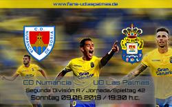 CD Numancia – UD Las Palmas