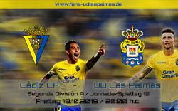 Cádiz CF – UD Las Palmas