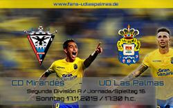CD Mirandes – UD Las Palmas
